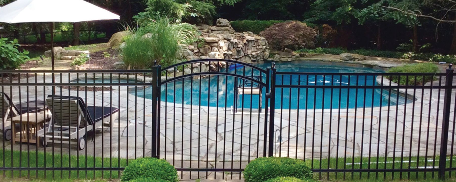 Granite Aluminum Fence